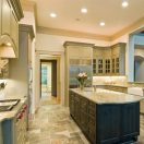 Kitchen Remodeling Project: Island with Granite Countertop